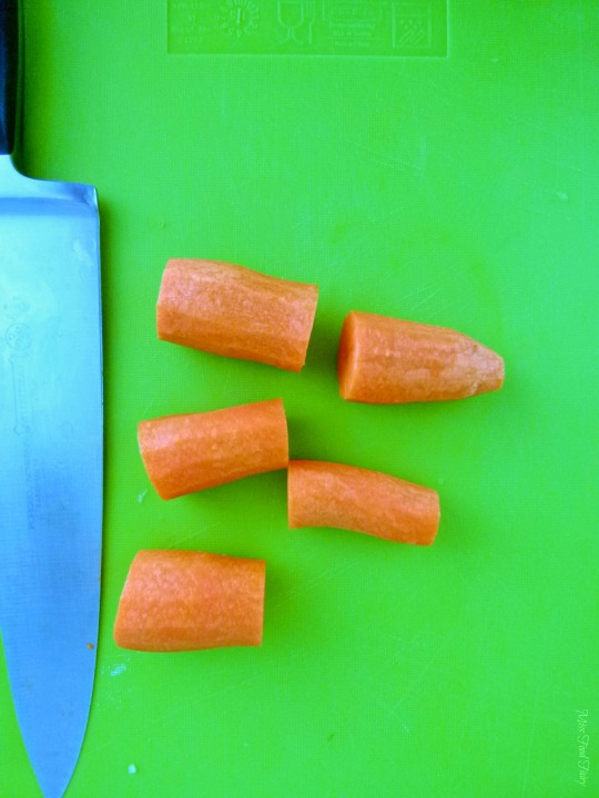 How to julienne carrots #2 @MissFoodFairy