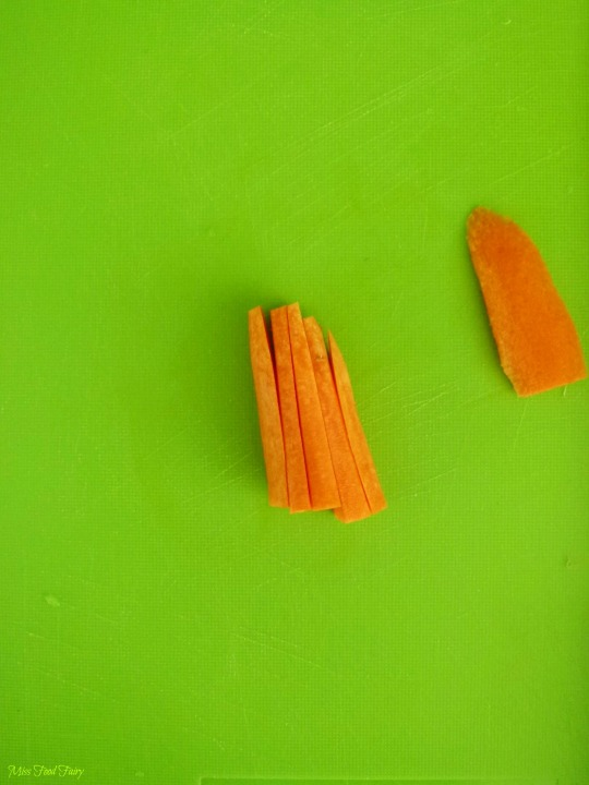 How to julienne carrots #4 @MissFoodFairy