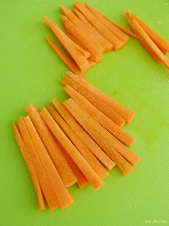 How to julienne carrots #6 @MissFoodFairy