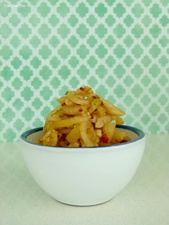 Korean pickled onions #2 @MissFoodFairy