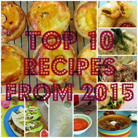 TOP10 recipes from 2015 @MissFoodFairy