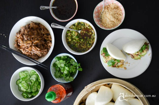 A Kitchen Cat Gua bao recipe