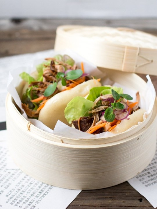 Chopstick Chronicles Pulled Pork Bao Buns 8