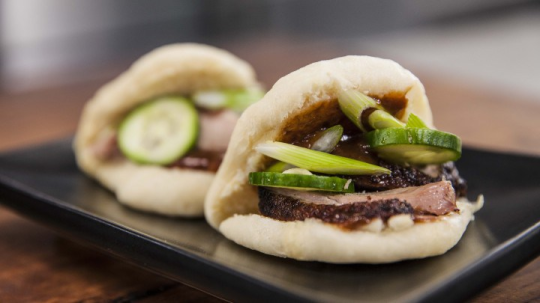 Everyday Gourmet steamed Chinese buns recipe