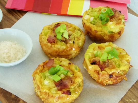 Mini bacon & egg frittatas #3 @MissFoodFairy