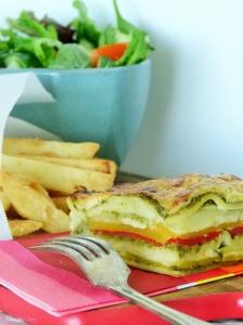 Vegetable lasagne #1 @MissFoodFairy