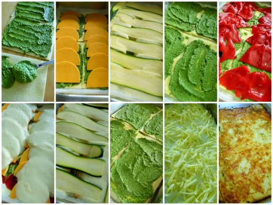 Vegetable lasagne step-by-step @MissFoodFairy