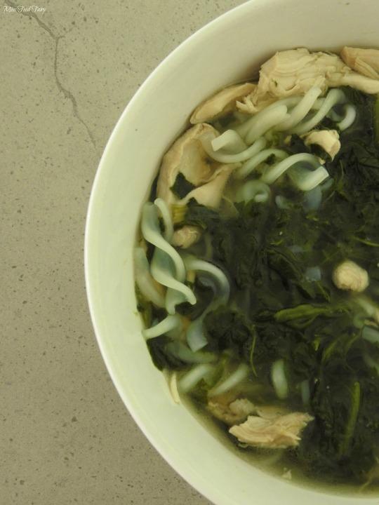 Healing chicken noodle soup #3 @MissFoodFairy