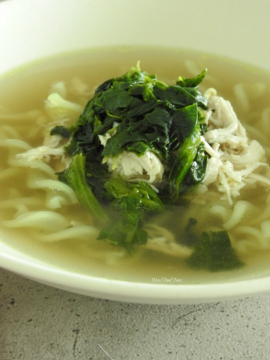 Healing chicken noodle soup #6 @MissFoodFairy