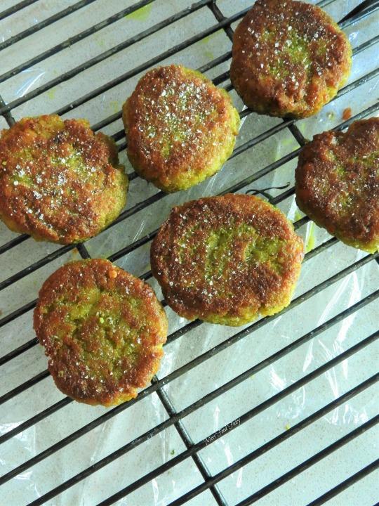 Yellow split pea falafels #4 @MissFoodFairy