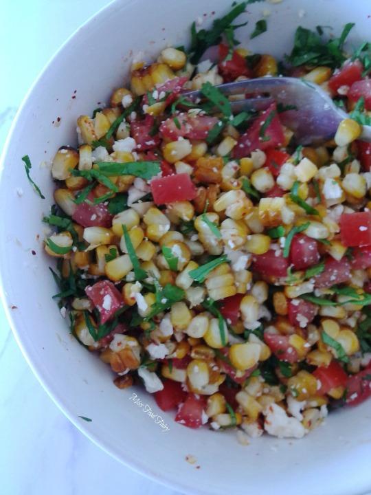 Grilled corn bulgar salad #8 MissFoodFairy