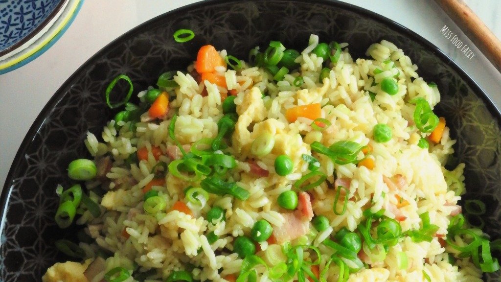 Chinese fried rice + win a Kitchen Warehouse voucher | Miss Food Fairy