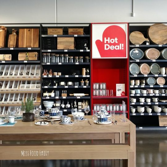 Visit to Kitchen Warehouse | Miss Food Fairy