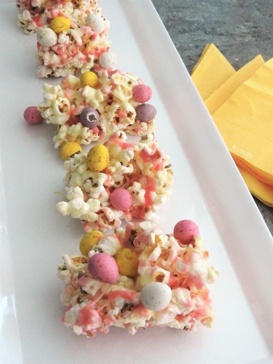 Marshmallow Easter egg slice | MissFoodFairy