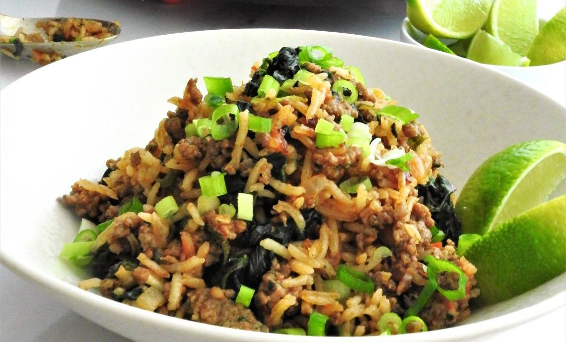 Miss food fairy recipes food inspiration experiences one pan spanish rice with beef miss food fairy forumfinder Image collections