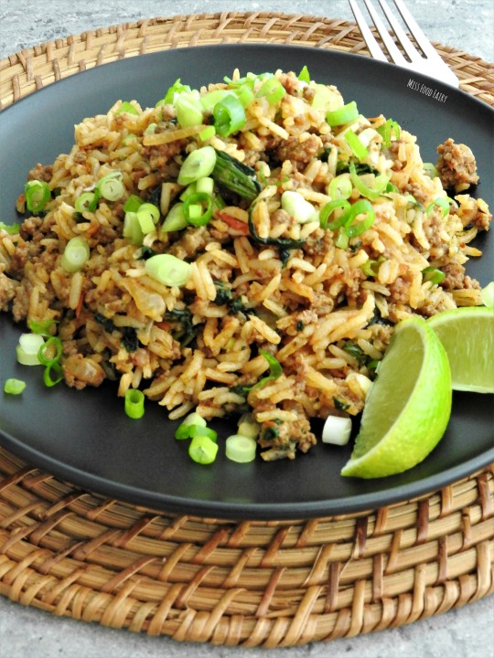 One pan Spanish rice with beef | Miss Food Fairy