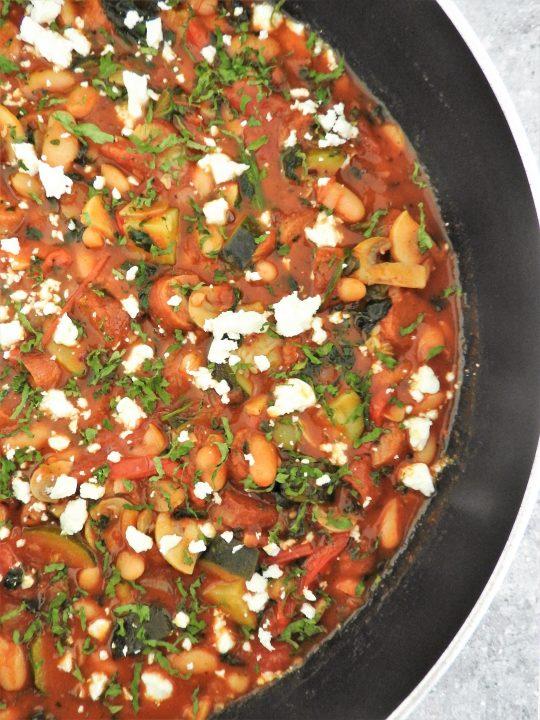 Mediterranean sausage stew